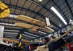 Wright Flyer Replica (Infinity & Beyond Photography: Kev Cook) Tags: wright flyer replica airplane yorkshire air aviation museum planes 8mm samyang fisheye photos