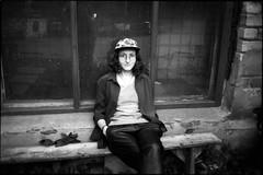 Ксения (Natasha Buzina) Tags: portrait film blackandwhite olympusom портрет пленка