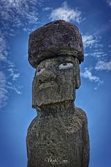 Ahu Ko Te Riku (marko.erman) Tags: rapanui easter island easterisland pacificocean moai statues sculptures gigantic pukao headress eye ahukoteriku sony travel outdoor outside popular mysterious oldcivilisation