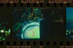 (Just A Stray Cat) Tags: kodak ektar 100 stadium blue jays cn tower toronto ontario canada six 6 6ix drake hotel overscan frame 35mm 35 mm film analog analogue olympus stylus mju mjuii ii