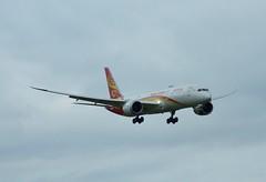 B-206R (Gary Kenney Aviation) Tags: boeing 787 7879 dreamliner hainan airlines airplane edinburgh airport