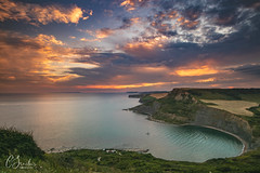 A mixed weekend (Christine down south) Tags: chapmanspool dorset jurassiccoast southcoast cliffs bay sunset