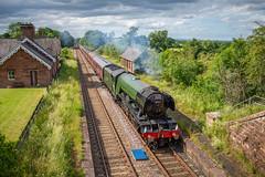 188/365 (Charlie Little) Tags: steam railways train locomotive flyingscotsman cumwhinton station cumbria nikon d7200 tamron18400mm p365 project365