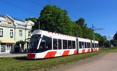 Estonia -Tallinn tram (onewayticket) Tags: tram transport urban tlt caf urbos axl tallinn estonia cafurbosaxl