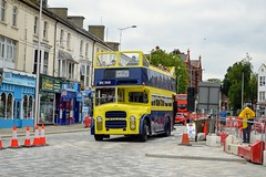84 DHC784E (PD3.) Tags: leyland titan pd3 84 dhc784e dhc 784c open top topper topless eastbourne classic bus buses running day east sussex preserved