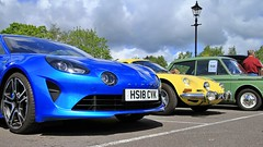 1973 Alpine Renault A110 SPE 156L, 2018 Alpine A110 Premiere Edition HS18 CVK (BIKEPILOT, Thx for + 5,000,000 views) Tags: farnhamfestivaloftransport farnham surrey uk 2019 1973 alpine renault spe156l a110 2018 premiereedition hs18cvk blue yellow car automobile vehicle transport sportscar french england britain town carshow