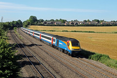 43066 43073 Thurmaston (CD Sansome) Tags: east midlands trains stagecoach thurmaston mml midland main line hst high speed train 43 43066 43073 syston