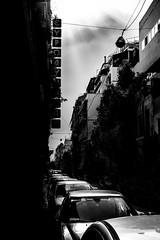 Athens, Greece (pas le matin) Tags: bw nb blackandwhite noiretblanc monochrome travel voyage world grèce greece athens athènes city ville capite capital cityscape urban street rue cars voiture buildings bâtiments contraste sun soleil sunbeams rayondesoleil canon 5dmkiii 5d canon5dmkiii canoneos5dmkiii eos5dmkiii
