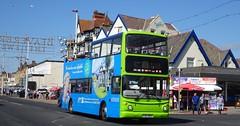 Blackpool (Andrew Stopford) Tags: v145mev dennis trident alexander alx400 catch22 blackpool stagecoach goldentours grayline