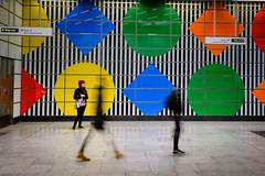 Move on by (singulartalent) Tags: mhighamphotos tfl tottenhamcourtroad underground architecture art london londonunderground mosaic station transportforlondon uk