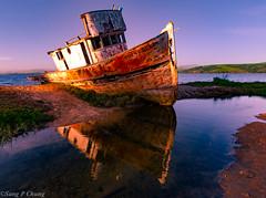 a wrecked ship (sang chung) Tags: pointreyesnationalseashore