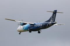 ES-ATA ATR72-600 IMG_6802 (Bob the Courier Too) Tags: scotland glasgowairport aircraft esata atr72 nordica flybe