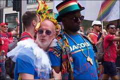 Pride London 2019 - DSCF2791a (normko) Tags: london pride parade 2019 regent street gay lesbian bi trans celebration protest rainbow