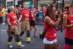 Pride London 2019 - DSCF2592a (normko) Tags: london pride parade 2019 regent street gay lesbian bi trans celebration protest rainbow lfb fire fighter