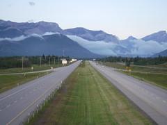 Mist in the mountains (davebloggs007) Tags: transcanada highway kananaskis alberta canada july 2019