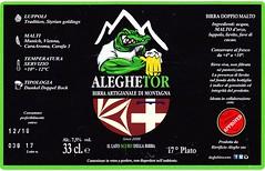 Italy - Birrificio Aleghe (Coazze) (cigpack.at) Tags: italien italy coazze birrificioaleghe aleghetor bier beer brauerei brewery label etikett bierflasche bieretikett flaschenetikett