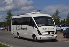 YN09 AOM: Law t/a L.L. Travel, Mexborough (chucklebuster) Tags: yn09aom law ll travel mercedes vario plaxton cheetah