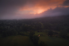 Rondout Valley Dawn (Gerald Berliner Photography) Tags: sunrise djiinspire2 dji dronephotography drones