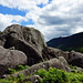 2019-06-07 06-22 Irland 835 Wicklow Mountains, Glendalough, Miner's Village