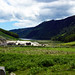 2019-06-07 06-22 Irland 833 Wicklow Mountains, Glendalough, Miner's Village