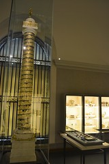 Model of Trajan's column by Luigi Valadier 1774-80 Gold (Moments captured by the Camera) Tags: munich summer 2019 museum