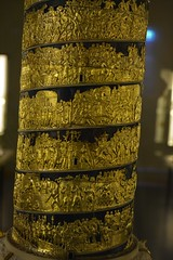 Model of Trajan's column by Luigi Valadier 1774-80 Gold C (Moments captured by the Camera) Tags: munich summer 2019 museum