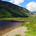 2019-06-07 06-22 Irland 828 Wicklow Mountains, Glendalough, Upper Lake