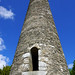 2019-06-07 06-22 Irland 818 Wicklow Mountains, Glendalough, Round Tower