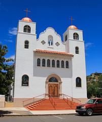 Our Lady of the Blessed Sacrament (Buck--Fever) Tags: church miamiclaypoolarizona miamiarizona arizona arizonaskies arizonawonders oldbuildings canon60d tamron18400lens us60