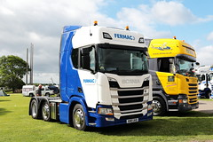Fermac Scania R450 KM19UKB Malvern Truckfest 2019 (davidseall) Tags: fermac scania r450 km19ukb malvern truckfest 2019 truck lorry show large heavy goods vehicle lgv hgv vabis worcestershire uk km19 ukb
