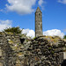 2019-06-07 06-22 Irland 812 Wicklow Mountains, Glendalough, Round Tower