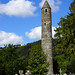 2019-06-07 06-22 Irland 808 Wicklow Mountains, Glendalough, Round Tower