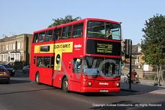 Metroline TA648 LK05GGP W, 210) (andrewcolebourne) Tags: london londonbus transportforlondon metroline w cricklewoodgarage ta648 lk05ggp dennis trident alexander alx400 archway stjohnsway