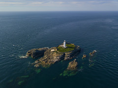 #202 Godrevy (Timster1973 - thanks for the 16 million views!) Tags: aerial aerialphotography fly mavic drone uav quadcopter dji mavicprodrone djimavicpro up uphigh droneflying tim knifton timster1973 timknifton explore exploration perspective lookdown lookingdown color colour godrevy lighthouse light structure sea seascape water waterscape ocean oceanic coastal coast blue