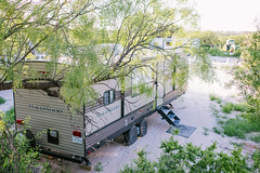 Canaan Meadows RV Park - Big Spring, TX - Shaded RV Hookups