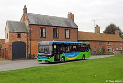 SN16OPX Stagecoach Norfolk 37433 (theroumynante) Tags: sn16opx stagecoach norfolk 37433 alexander dennis adl enviro200 mmc burnham market bus buses lowfloor singledeck road transport coasthopper routech1 ch1