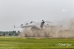 Dust Storm (david.horst.7) Tags: plane airplane aircraft jet transport boeing c17 globemaster heavy takeoff dust warbird warplane us usa usaf airforce