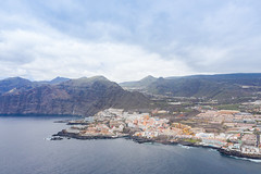 "Aerial view of Los Gigantes and Puerto de Santiago on Tenerife, Canary Islands, Spain (dronepicr) Tags: hike allgemein city wanderlust natur kanaren archipelago ""aerialviewtravel"" drone wandern mavic island stadt kanarische inseln teneriffa länderstädte insel geotagged landscape schönste strände luftbild strandurlaub bay spain sightseeing tenerife aerial ferien uav hiking wanderurlaub la gomera foto beach macaronesia strand travel urlaub luftbildreise ""birdseyeview"" canary islands vogelperspektive drohne holiday spanien ballermann"
