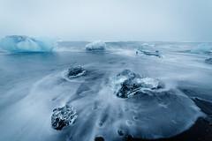 Ocean On The Rocks (vs_foto) Tags: cold canon glacier canonphotography canon5dmkiii ocean ice nature landscape island iceland icecubes vsfoto vsphotography woidfeeee outside