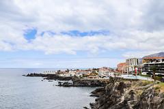 Die Steilküste von Punta Negra auf Teneriffa, Spanien