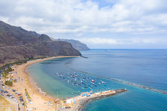 "Yachts in the North Atlantic Ocean near Playa de las Teresitas on Tenerife, Spain (dronepicr) Tags: hike allgemein city wanderlust natur kanaren archipelago ""aerialviewtravel"" drone wandern mavic island stadt kanarische inseln teneriffa länderstädte insel geotagged landscape schönste strände luftbild strandurlaub bay spain sightseeing tenerife aerial ferien uav hiking wanderurlaub la gomera foto beach macaronesia strand travel urlaub luftbildreise ""birdseyeview"" canary islands vogelperspektive drohne holiday spanien ballermann"