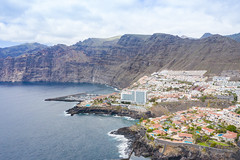 "Aerial view of the steep coast of Los Gigantes on Tenerife, Spain (dronepicr) Tags: hike allgemein city wanderlust natur kanaren archipelago ""aerialviewtravel"" drone wandern mavic island stadt kanarische inseln teneriffa länderstädte insel geotagged landscape schönste strände luftbild strandurlaub bay spain sightseeing tenerife aerial ferien uav hiking wanderurlaub la gomera foto beach macaronesia strand travel urlaub luftbildreise ""birdseyeview"" canary islands vogelperspektive drohne holiday spanien ballermann"