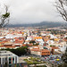 Blick auf San Cristóbal de La Laguna aus der Aussichtsplattform Mirador De San Roque auf Teneriffa, Spanien
