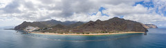 "Panoramic view of Playa de las Teresitas beach and Anaga Mountains on Tenerife, Spain (dronepicr) Tags: hike allgemein city wanderlust holiday kanaren schönste strände ballermann drone spain mavic drohne stadt kanarische inseln la gomera länderstädte geotagged teneriffa landscape ""aerialviewtravel"" wandern strandurlaub bay wanderurlaub sightseeing island aerial hiking uav archipelago ferien strand foto beach macaronesia vogelperspektive travel urlaub luftbildreise ""birdseyeview"" canary islands tenerife natur insel spanien luftbild"