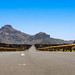 TF-38 road with view of Boca Tauce observation deck in Teide National Park on Tenerife, Spain