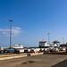 Muelle De La Ribera harbour dock in Santa Cruz de Tenerife, Spain