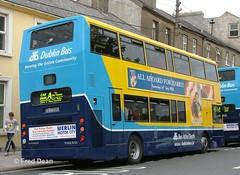 Dublin Bus AV263 (02D20263). (Fred Dean Jnr) Tags: busathacliath waterford dublinbusyellowbluelivery dublinbus bus dbrook volvo b7tl alexander alx400 av263 02d20263 parnellstreetwaterford july2005 waterfordtallships2005