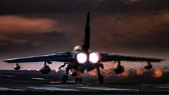 Tornado GR4 (Steve Cooke-SRAviation) Tags: 15sqn panavia raf 500mm tornadogr4 sunset stevecooke marham lightningll tornado sraviation 31sqn canon 100400mm 5d4 tonka