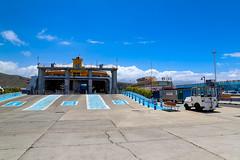 Fährterminal auf Teneriffa, Spanien