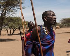 Masai dance (olafrudiger) Tags: africa masai tanzania ngorongoro